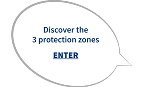 Discover the three protection zones