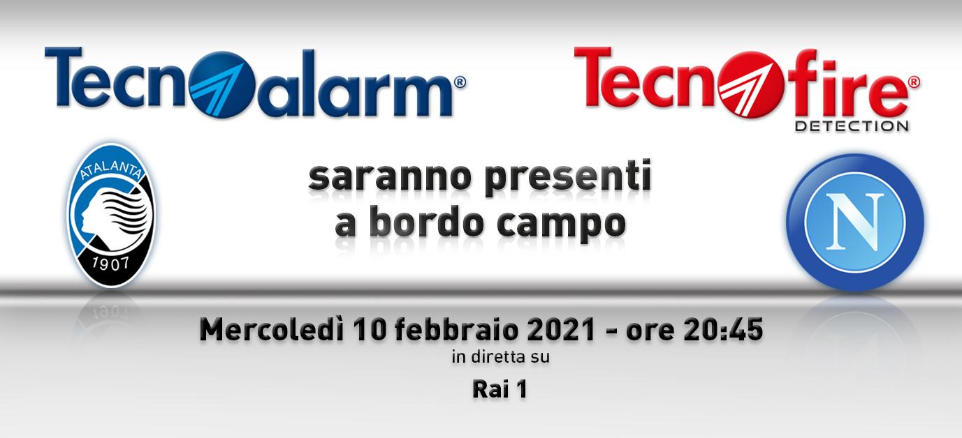 TECNOALARM SCENDE IN CAMPO: Atalanta vs Napoli