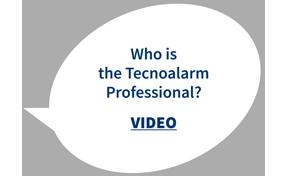 Who is the Tecnoalarm Professional?