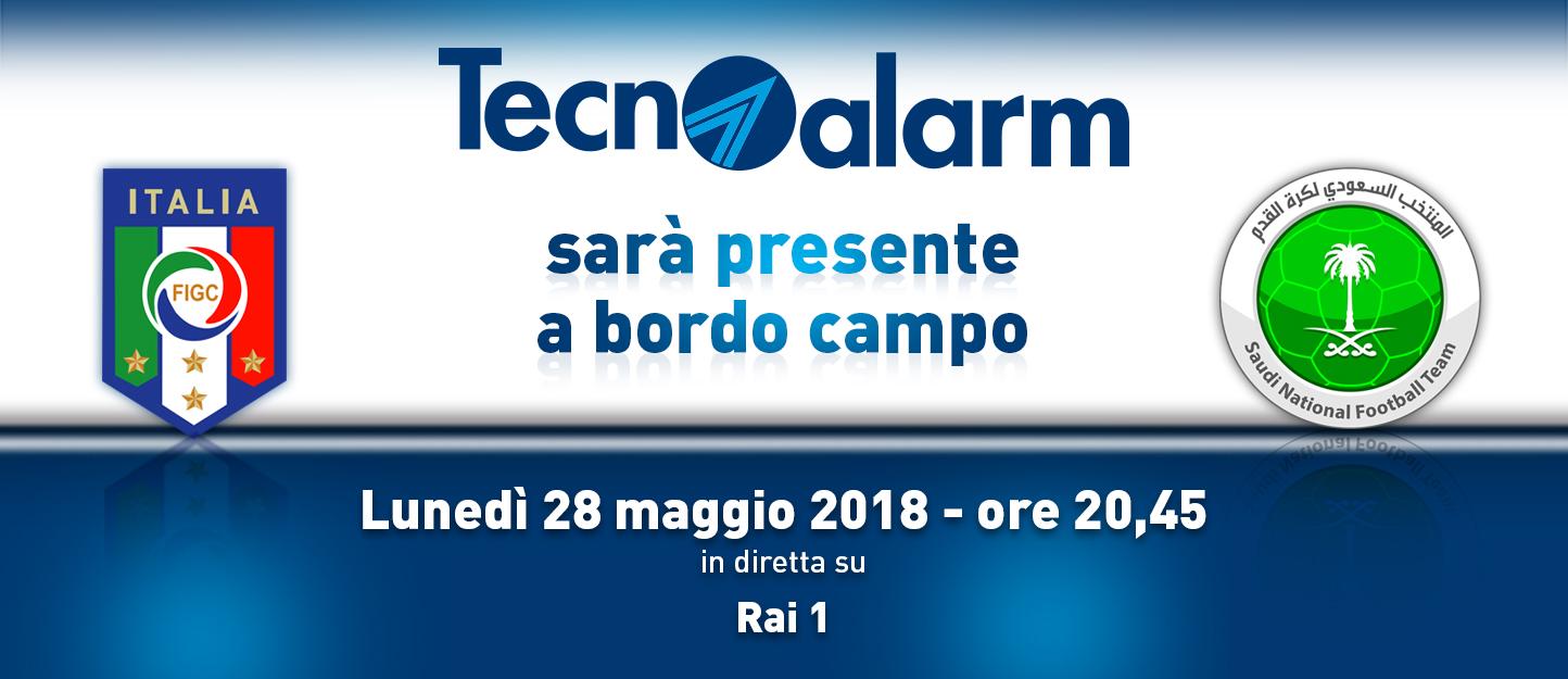 TECNOALARM SCENDE IN CAMPO: ITALIA vs ARABIA SAUDITA